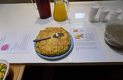 Diagrama Foundation: A traditional Spanish dish made by residents at Cabrini House