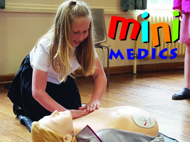 Diagrama Foundation mini medics training for children